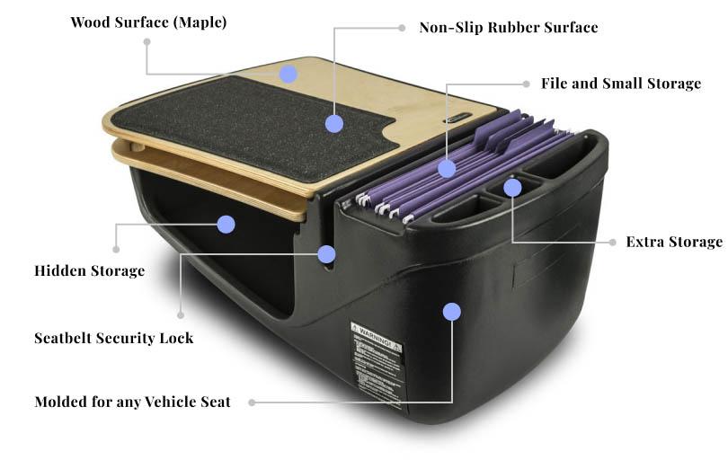 GripMaster Car Desk